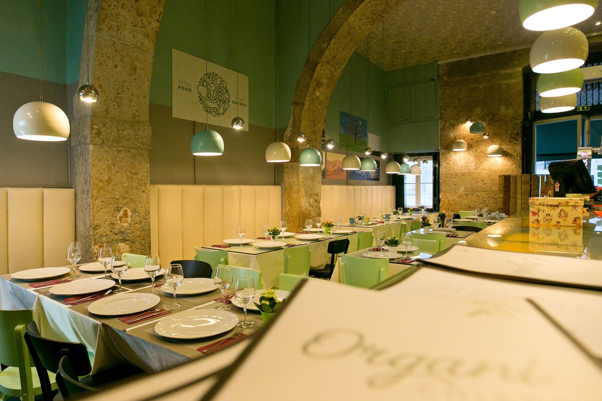 Restaurante Vegan Lisboa - Restaurante Vegan - Organi Chiado